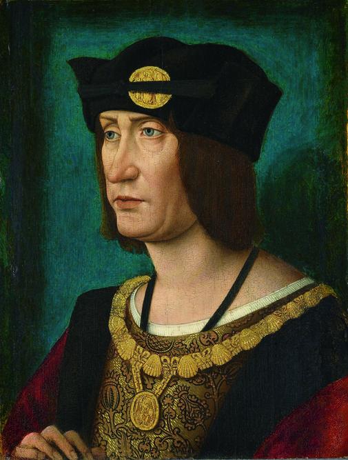 Atelier de Jean Perréal : « Louis XII », vers 1514 – huile sur bois