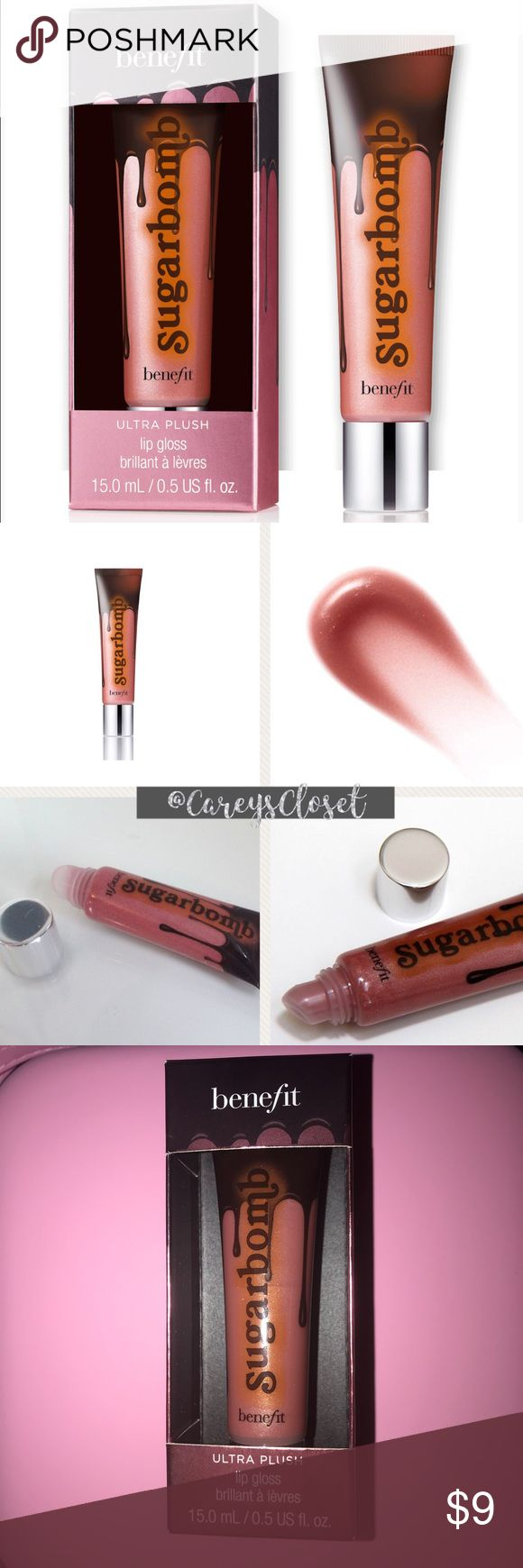 🎄Stocking Stuffer🎄 NWT Ultra Plush Lip Gloss Sugarbomb is a soft & silky gloss that glides on so smooth, drenching lips in luscious color in this shimmery, pinky nude gloss. Apply to lips for luscious coverage and add a little extra to the center of your bottom lip to make your pout look fuller!  This luscious gloss comes in a soft-squeeze tube and delivers sheer color that takes you from day to night and is never sticky.  Brand new, never swatched. Pic shown is from images.  Color…