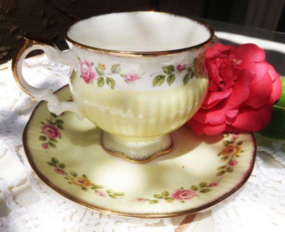 Elizabethan fine bone china made in England by LoveCareHandmade