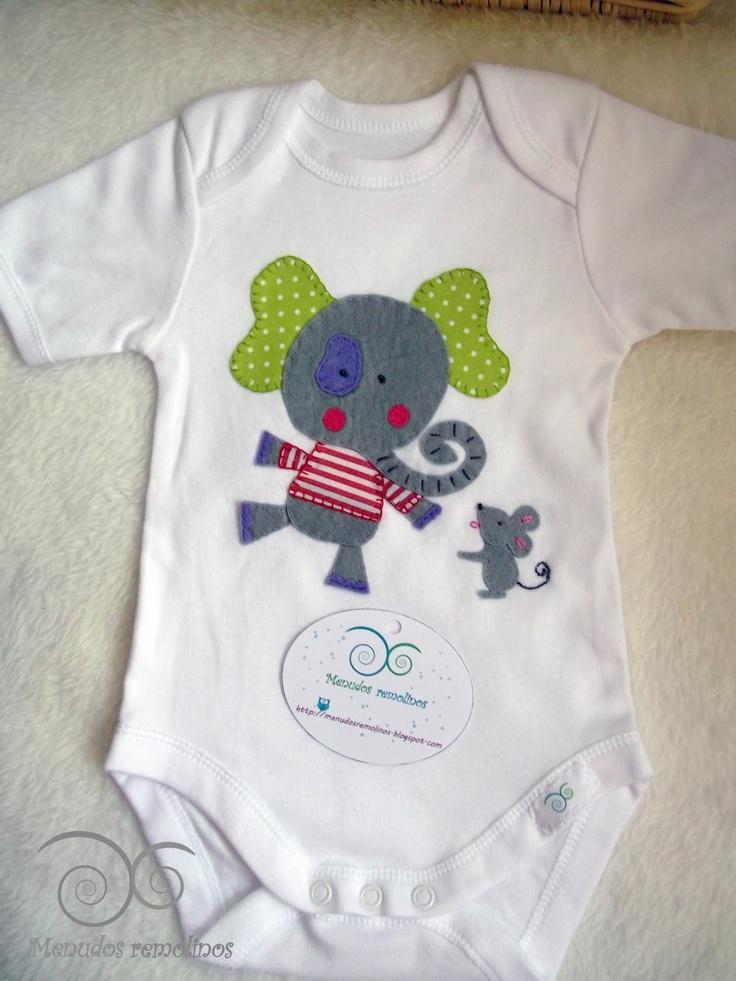 Menudos Remolinos: Bodys para bebés