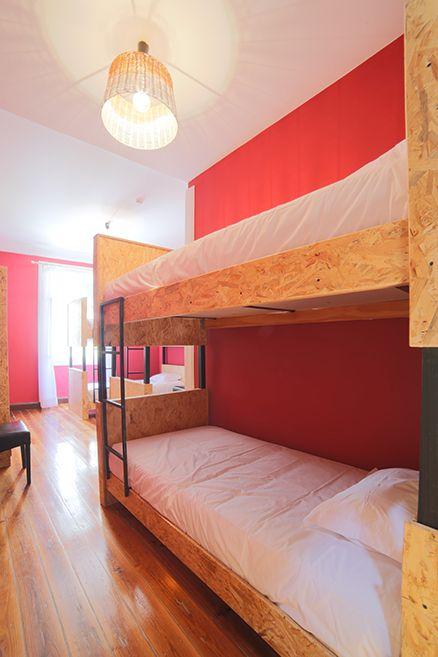 Red Dormitories (Shared Room) - Hostel Santa Maria Funchal, Madeira Island