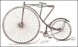 En la década de 1880, el inventor John Kemp Starley Inglés (1854-1901) diseñó una similar a la bicicleta actual. Tenía el manillar, las ruedas de goma, marco, pedales y cadenas.