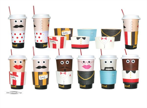 Cup design with photos
