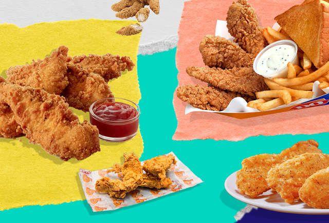13 Fast Food Chicken Tenders Ranked Socialogy Pinterest Food
