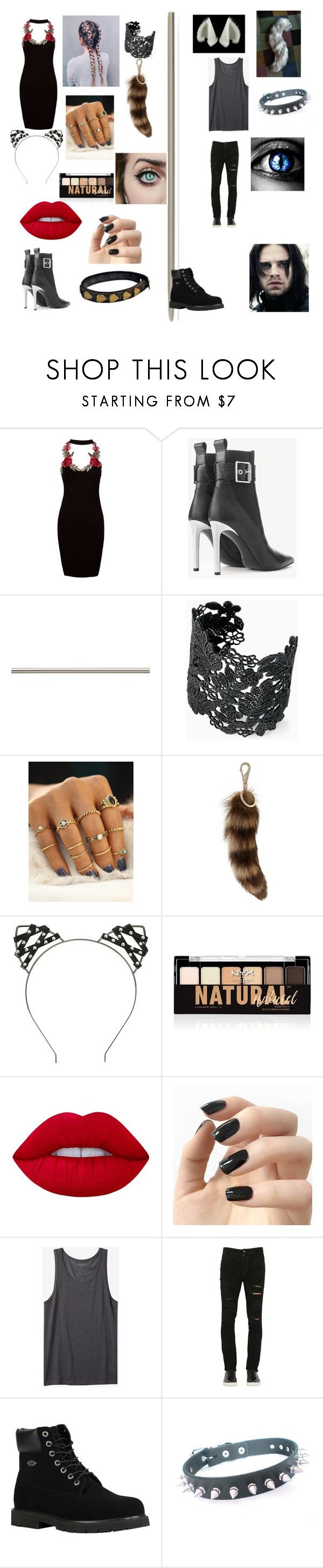 """we have to be what movie gone wrong with bucky"" by hardyzgirl04 ❤ liked on Polyvore featuring Sans Souci, rag & bone, Laura Ashley, Stella & Dot, Givenchy, Hot Topic, NYX, Lime Crime, Incoco and Maison Kitsuné"
