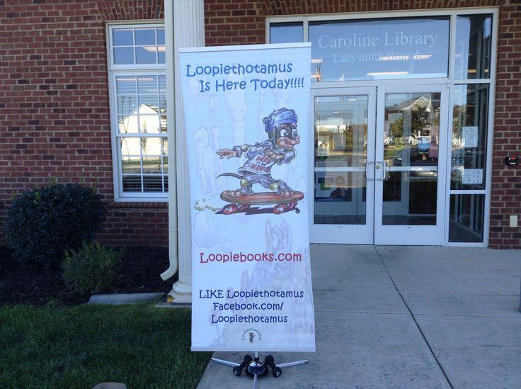 Loopiethotamus at Ladysmith Village Library Caroline County, VA 10/26/13