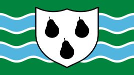 The new Flag of Worcestershire. Fly it with pride!! Worcestershire is the best.