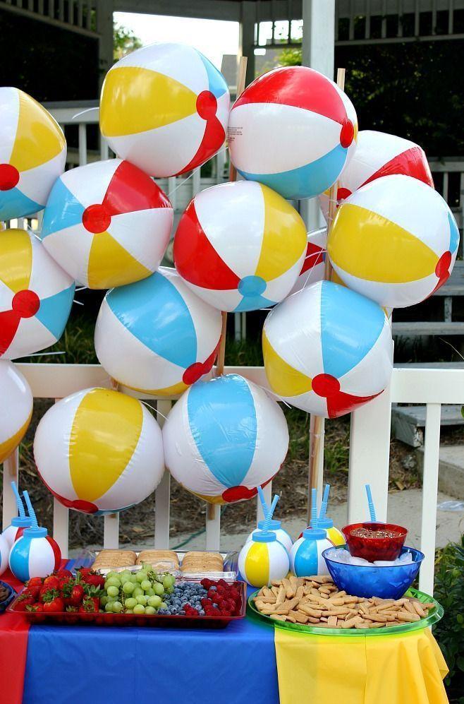 Have A Ball This Summer With This Fun Beach Ball Party Beach