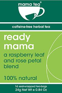 New Review of our delicious raspberry leaf tea! Ready Mama Raspberry Leaf Tea for Pregnancy