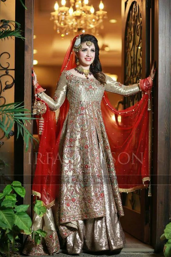 83b9d20786e Latest Asian Bridal Wedding Gowns Designs 2018-2019 Collection (19)