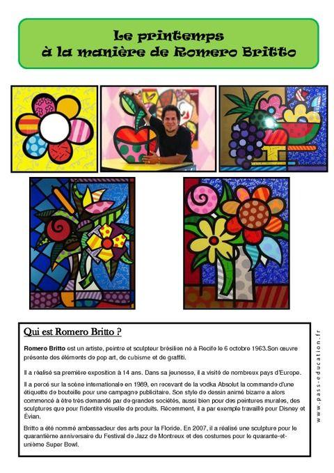 Berühmt Les 25 meilleures idées de la catégorie Romero britto sur  HF56
