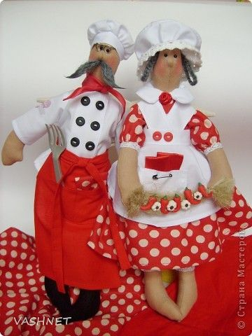 Mimin Dolls: Tilda Chefs.. Different ones..l
