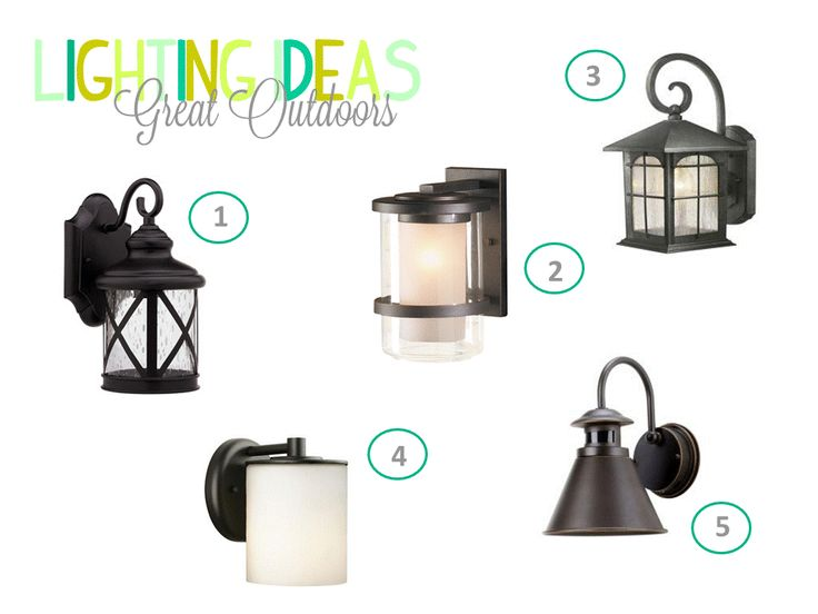 Chic Little House: Lighting Ideas: Great Outdoors