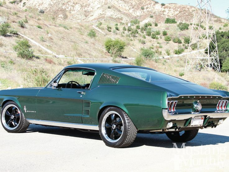 1968 ford mustang computer - photo #49