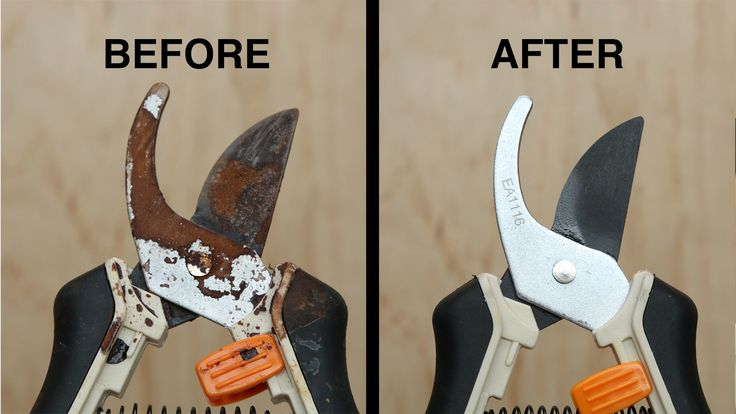 Here is what you'll need! How To Remove Rust From Garden Tools SUPPLIES Garden tools Spray bottle Vinegar Water Baking soda Paper towels INSTRUCTIONS Fill an...