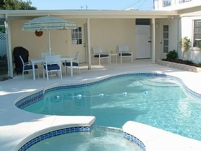 Daytona Beach House Rental Lifes A Beach Private Beach House W Pool Heated Spa