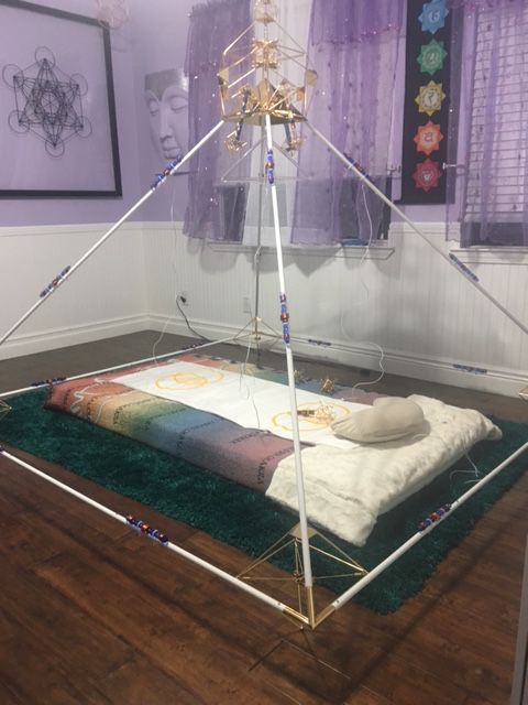 Buddha Maitreya Ascension Pyramid With Metatron Mat System