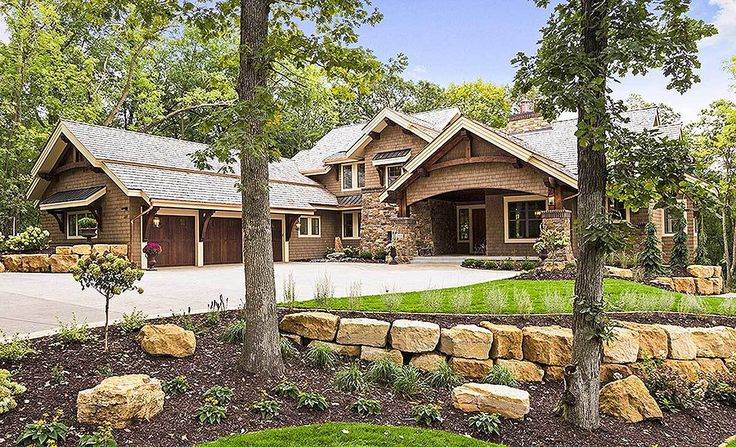 4 Bed Craftsman Dream Home Plan - 14623RK | Architectural Designs - House Plans This is now my favorite!!!