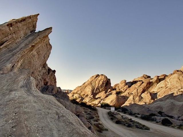Hidden treasure, epic movie scapes and glacier-like rocks that jut jaggedly from earth to sky await your family at Vasquez Rocks Natural Area Park.