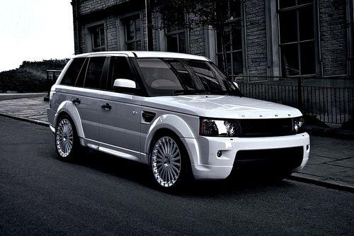 White on White Range Rover... I Loooooove It!!!!!!!