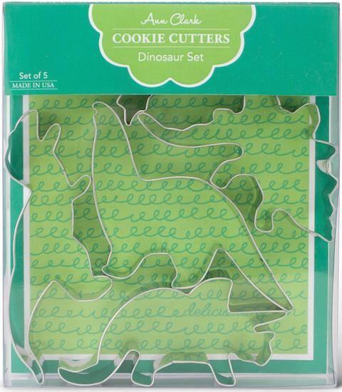 Dinosaur Cookie Cutter Set by Ann Clark