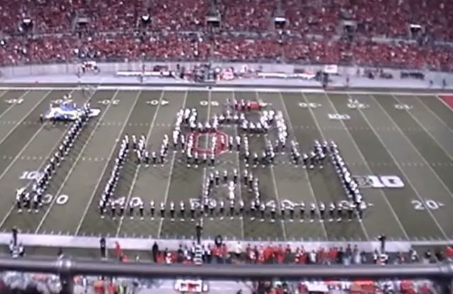 Watch this: Ohio State marching band performs a videogame-themed halftime show | The Verge