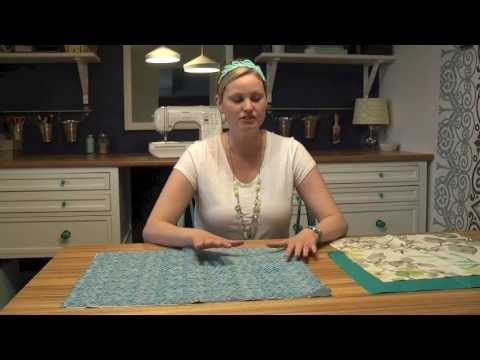 Easy Envelope Pillow Covers {Video Tutorial} | Teal and Lime by Jackie Hernandez