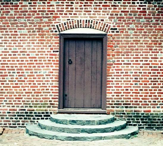 flemish brick bond Adam Thoroughgood House 1719, Princess Anne County, Virginia