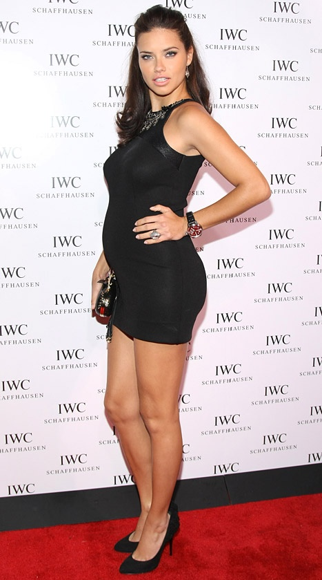 Adriana Lima! From Vickie Sec's!!! I hope I look this pretty while pregnant!