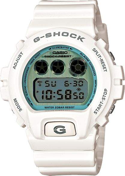 Mens G-Shock Polarized Color eries watch in white // Free Shipping in Australia