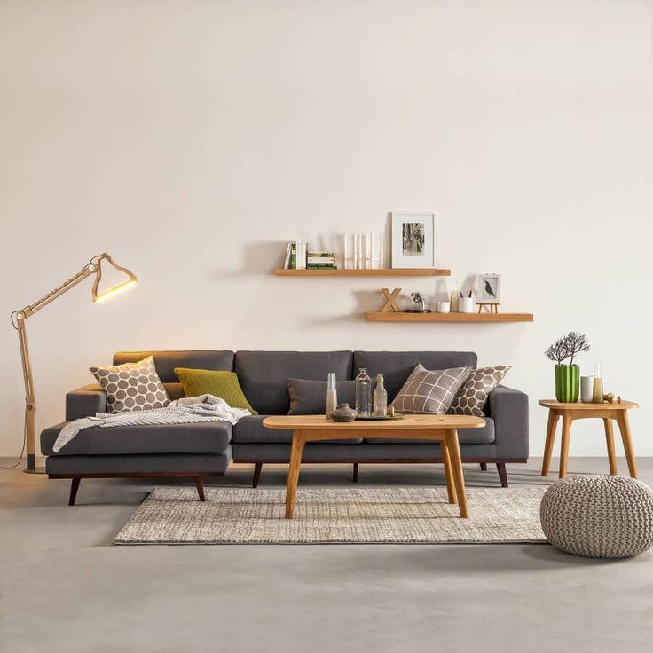 Die besten 25+ Ecksofa skandinavisch Ideen auf Pinterest Ecksofa - skandinavisch wohnen wohnzimmer