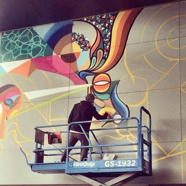 Beastman & Vans the Omega @ The Colombo for the Oi You! Street Art Festival