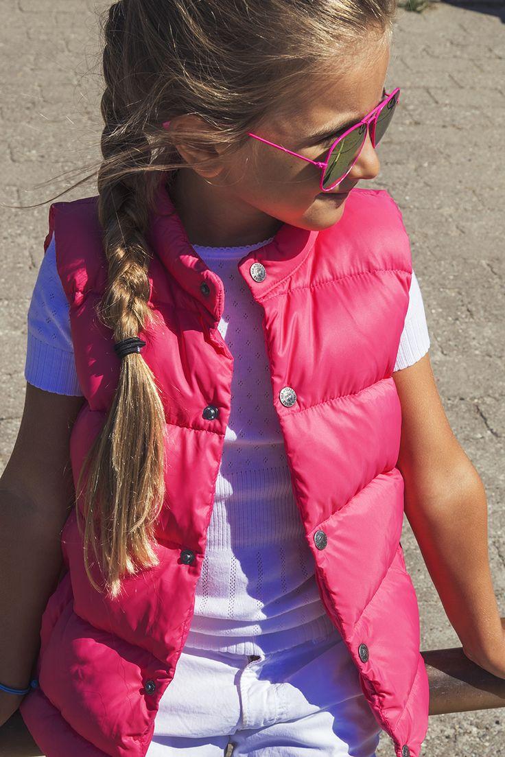 Ver de Terre Calypso pink dunvest til piger. Se vores udvalg online. www.livarosa.dk