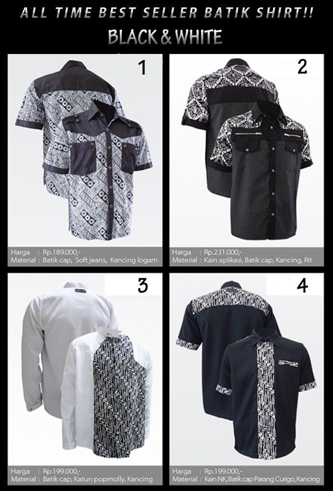 Best seller kemeja batik hitam putih Medogh. Kamu mau Youngster?! :)