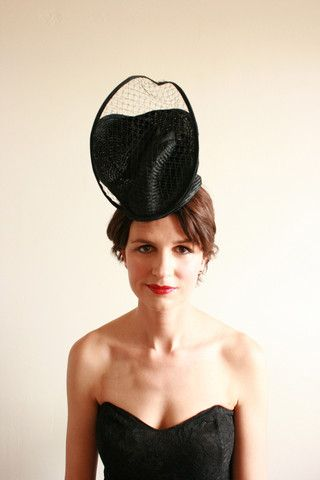 """Natalie Chan Couture millinery, """"Guapa"""""""