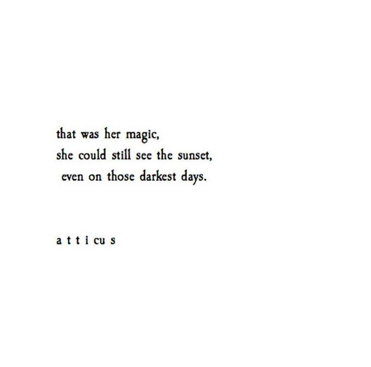 'Her Magic'   @Atticuspoetry #atticuspoetry