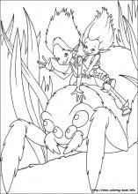 Arthur and the revenge of Maltazard coloring pages on Coloring-Book.info