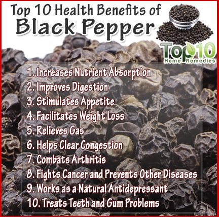 Top 10 Health Benefits of Black Pepper - Page 2 of 3 | Top 10 Home Remedies