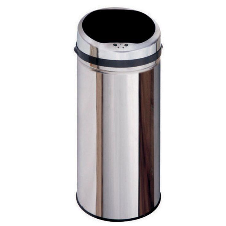 Inmotion 42L Stainless Steel Auto Sensor Kitchen Waste Dust Bin-Mybathroom.co.uk