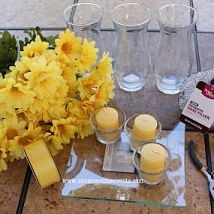 Hometalk :: This is a quick easy and affordable Spring Daisy Centerpiece for Mothe…