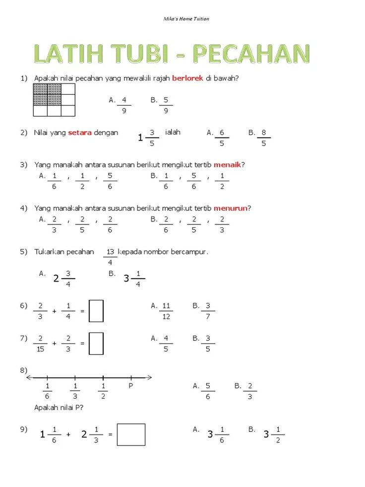 Latihan Matematik Tahun 5 Mengikut Topik Google Search Math Math Equations Cute766