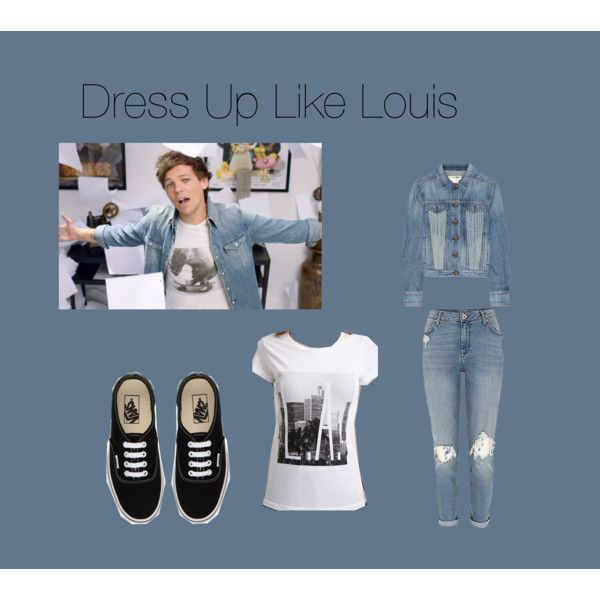 Dress Up Like Louis by edithtoth on Polyvore featuring Forever 21, rag & bone/JEAN and Vans