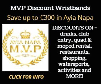 MVP discount wristbands ayia napa