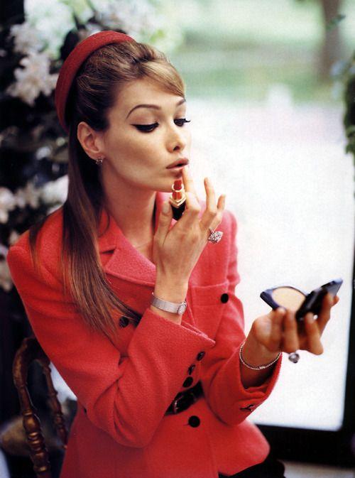 Carla Bruni. Gorgeous Girl! <3 #PINspiration