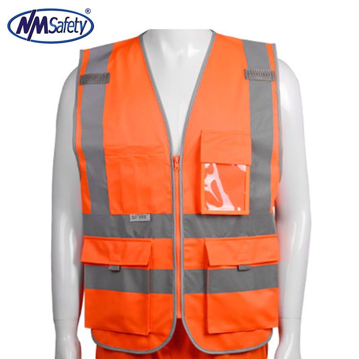 120GSM Polyester fabric top grade reflective safety vest & wholesale high visibility waistcoat chaleco reflectante