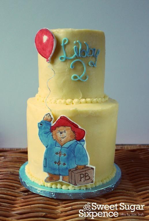Cake Art Paddington : 75 best images about EDIBLE PRINTING - CAKE IDEAS on ...
