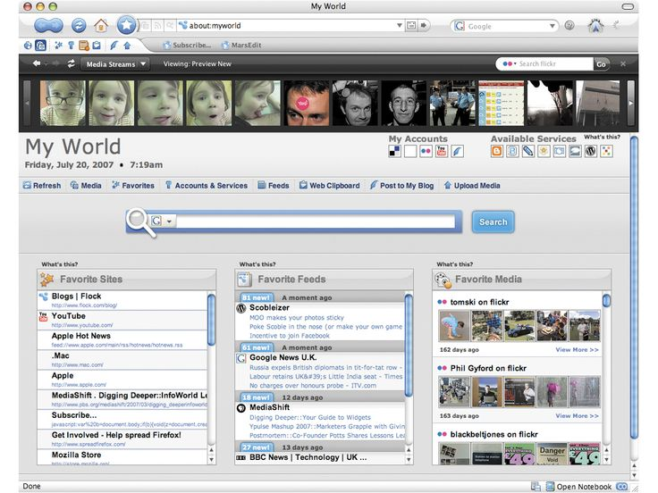 Flock 0.90 review   Most people use one of three browsers: Internet Explorer, Firefox or (for Mac users) Safari. However, there are a few browsers with small market shares but devoted audiences Reviews   TechRadar