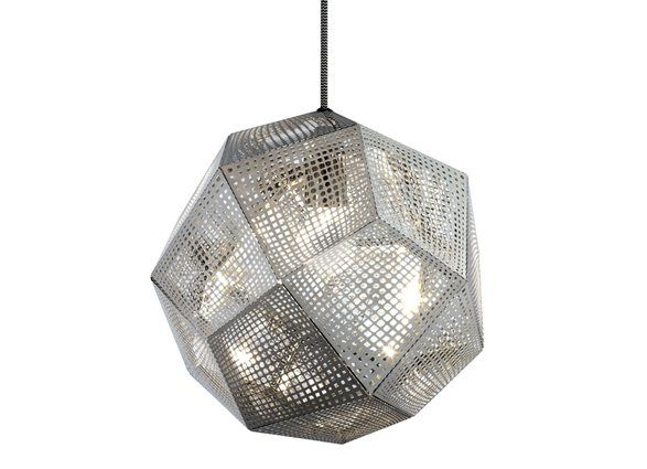 Tom Dixon Etch Steel Lamp