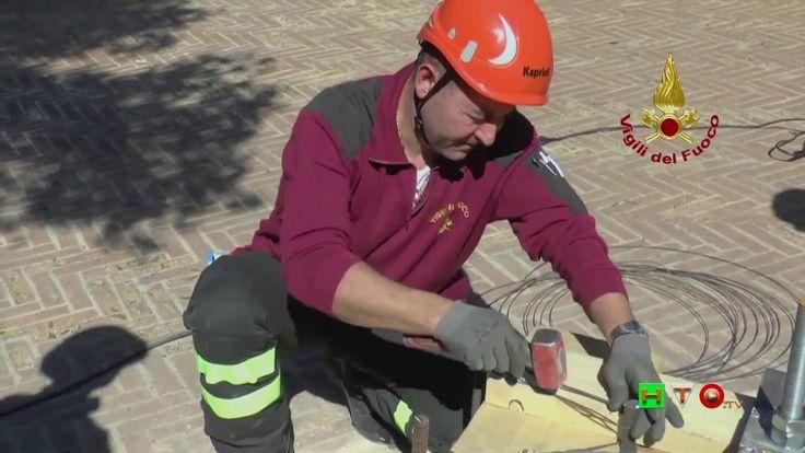 Vigili del Fuoco - Camerino - Archi del Belvedere della Rocca Borgesca -...