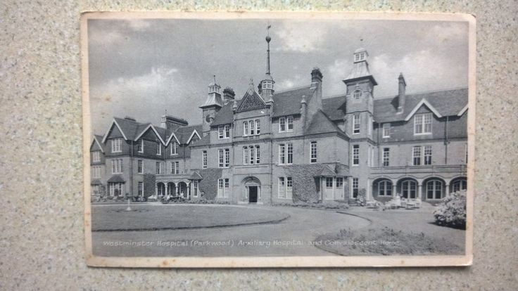 Parkwood Westminster Hospital Auxiliary and Convalescent Home Old Postcard